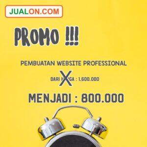 Promo Pembuatan Website